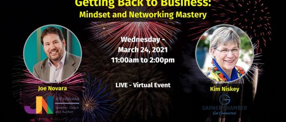 Getting Back to Business_ Mindset and Networking Mastery