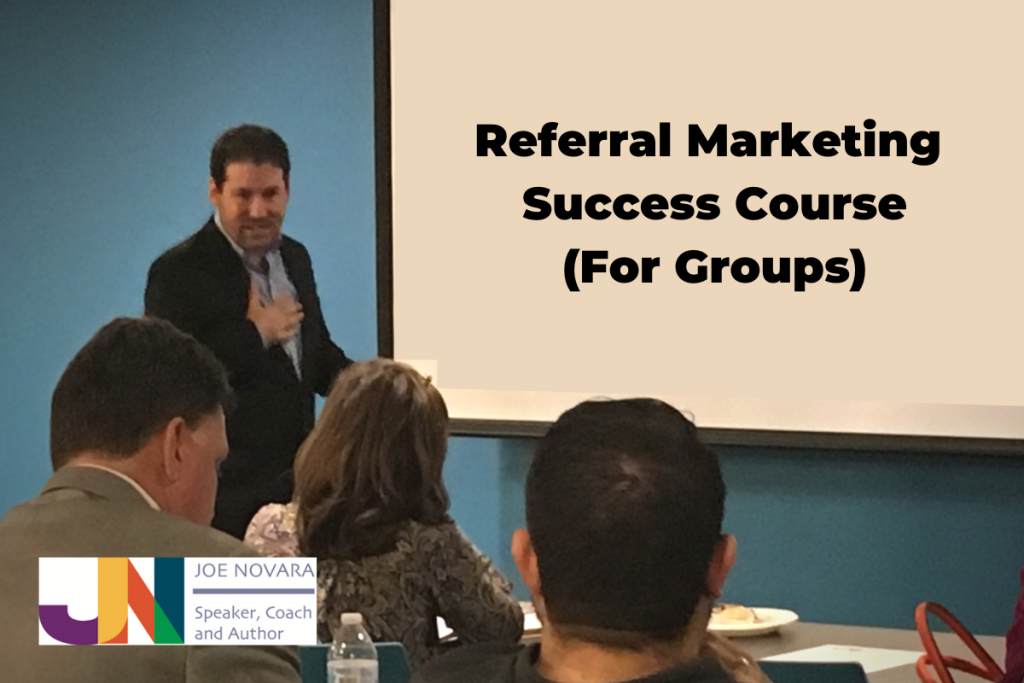 Referral Marketing Success Course for Groups
